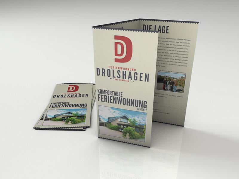 Flyer Ferienwohnung Drolshagen