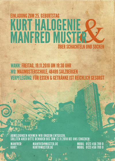 Flyer Manfred